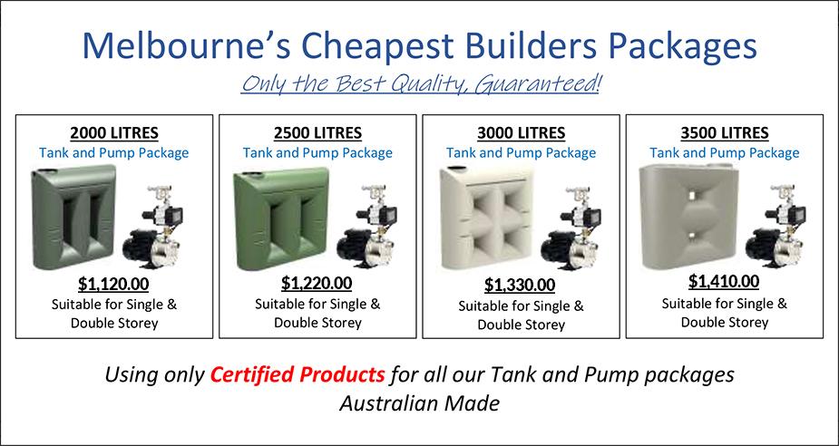 Rainwater Tanks Melbourne