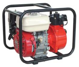Fire Fighting Pump with Roll Frame